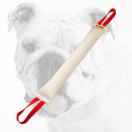Huge Fire Hose Bulldog Bite Tug with two Nylon Handles