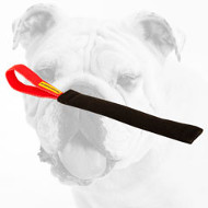 Synthetic Bulldog Puppy Bite Tug for Training