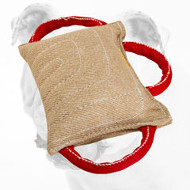 Extra Strong Jute Bulldog Bite Pad with 3 Handles