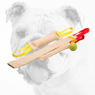Practical Bulldog Puppy Training Set of Tugs