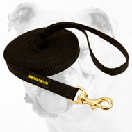 Practical Nylon Bulldog Leash for Training and Tracking