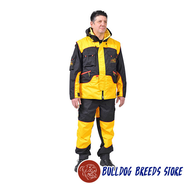 Dog Bite Suit of Waterproof Membrane Fabric for Training