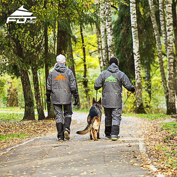 FDT Pro Dog Trainer Jacket of Top Quality for All Weather
