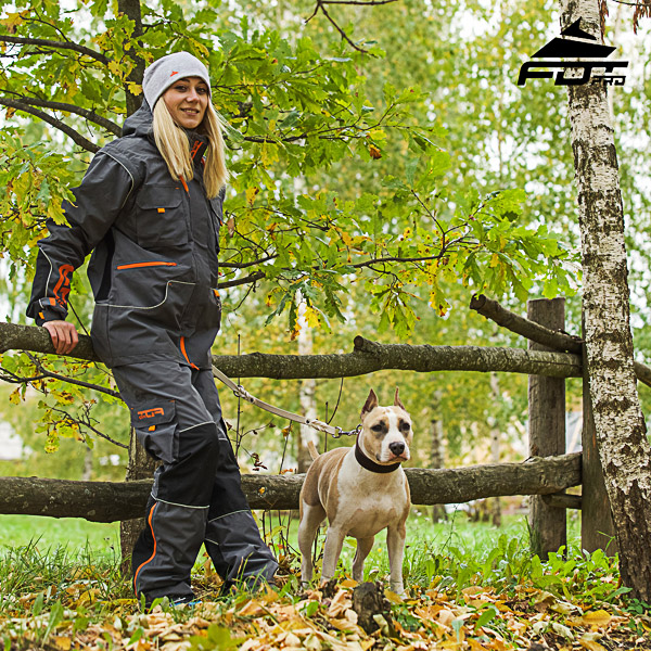 Men / Women Design Active Dog Trainers FDT Professional Pants with Side Pockets