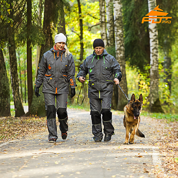 Any Weather Top Notch Dog Tracking Suit for Men and Women