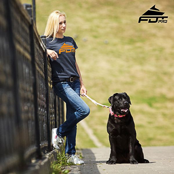 Women T-shirt of Best Quality Cotton for Dog Trainers