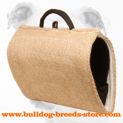 Best Quality Jute Bulldog Bite Builder with Handles