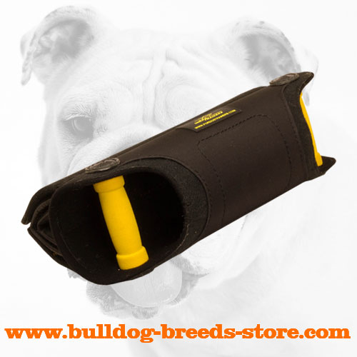 Bulldog Bite Builder with Inside Padded Handles