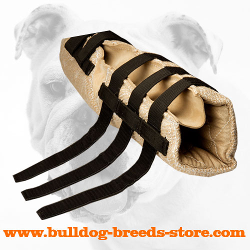 Jute Bulldog Bite Sleeve for Protection Training