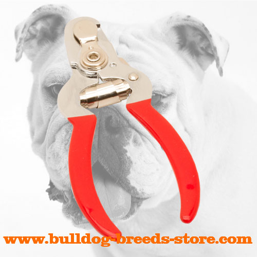 Bulldog Nail Clipper for Puppies and Adult Dogs
