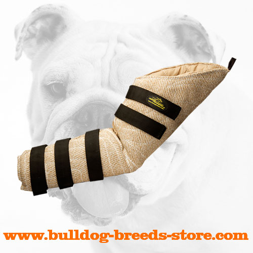 Hidden Jute Bulldog Bite Sleeve