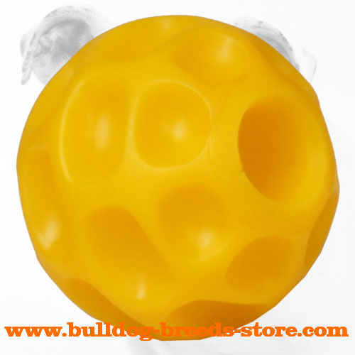 Bright High Quality Tetraflex Interactive Bulldog Ball