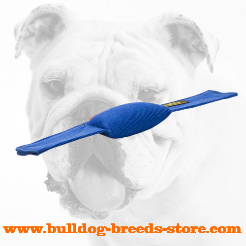 French Linen Bulldog Bite Pillow for Schutzhund Training