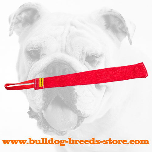 Frecnh Linen Bulldog Bite Rag for Prey Drive Training