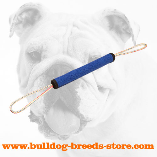 Tear Resistant Bulldog Bite Roll with Strong two Loops