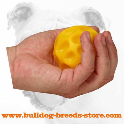 Interactive Tetraflex Dog Ball for Treat Dispensing