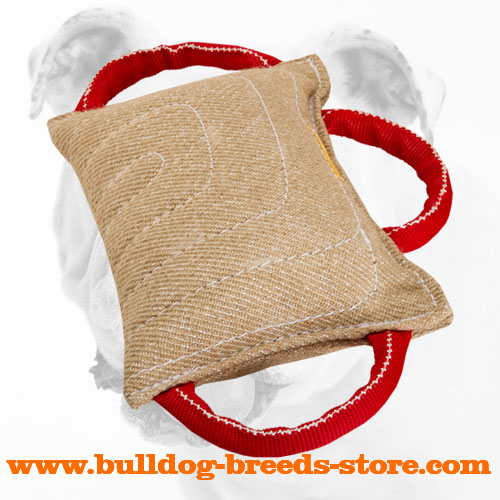 Extra Strong Jute Bulldog Bite Pad for Training