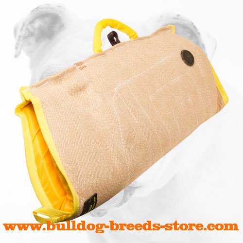 Best Training Jute Bulldog Bite Sleeve