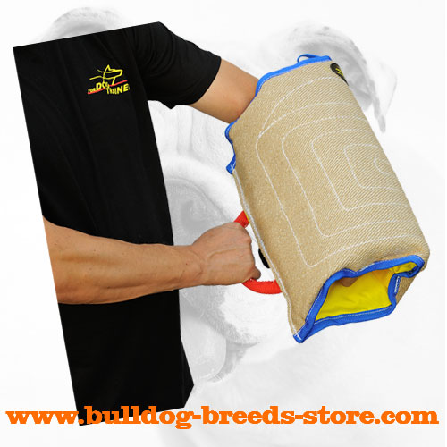 Jute Bulldog Bite Sleeve for Training