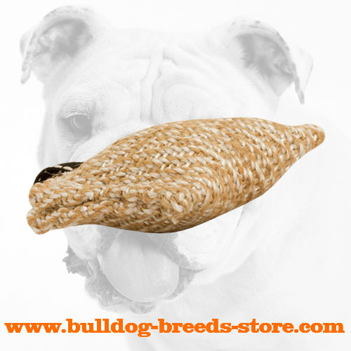 Training Jute Bulldog Bite Tug