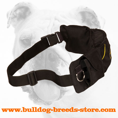 Training Bulldog Pouch with Waist Strap