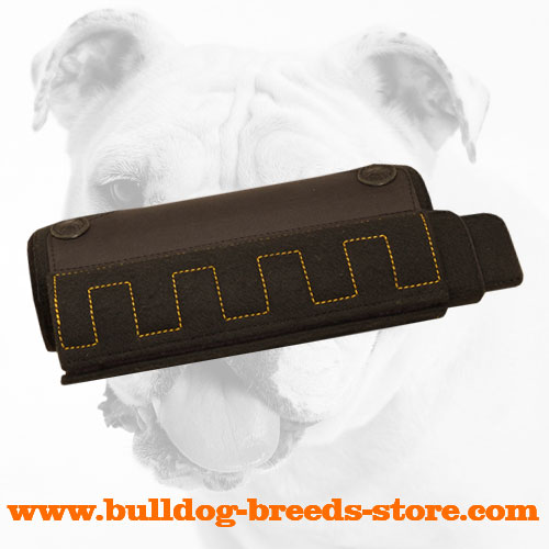 Strong Bulldog X-builder stitched for extra reliability