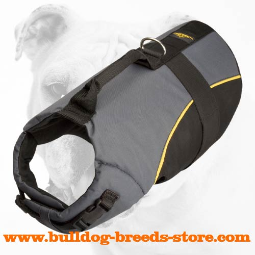 Waterproof Adjustable Winter Nylon Bulldog Vest