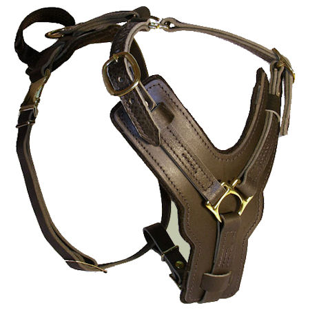 Bulldog Padded Dog Harness H10