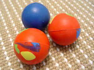 Crazy Color Rubber Ball