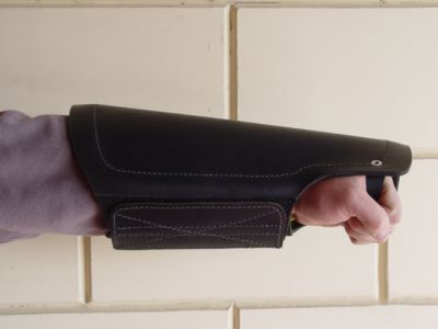 Protection arm cover made of leather for training Bulldogs-PS11