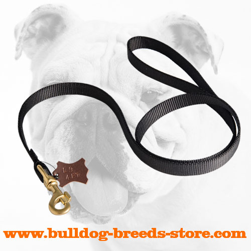 Reliable Tracking Nylon Bulldog Leash
