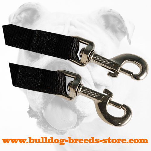 Durable Snap Hooks of Nylon Bulldog Coupler