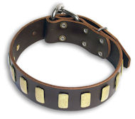 Handcrafted Leather Dog Collar For Large and Medium Breeds