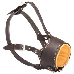 Perfect Quality Leather Bulldog Muzzle