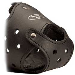Walking muzzle with adjustable straps for Bully