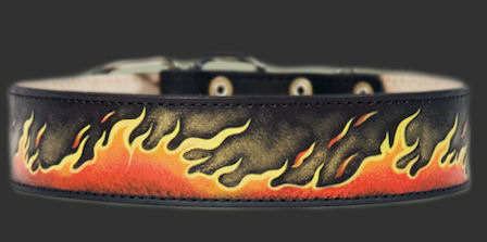 Bulldog Dog Collar - Leather Dog Collar For American Bulldog